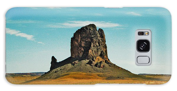 Desert Sentinel Galaxy Case by Sylvia Thornton
