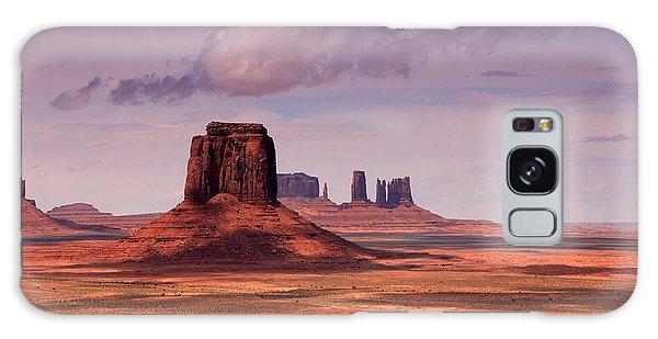 Desert View Tower Galaxy Case - Desert Sky by Johnny Adolphson