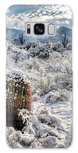 Desert Snow Galaxy Case