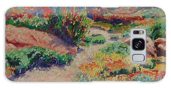 Desert Spring Flowers Namaqualand Galaxy Case