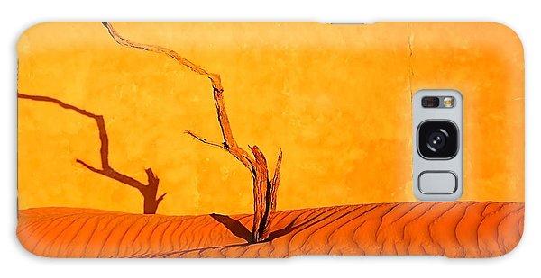 Namibia Desert Still Life Galaxy Case