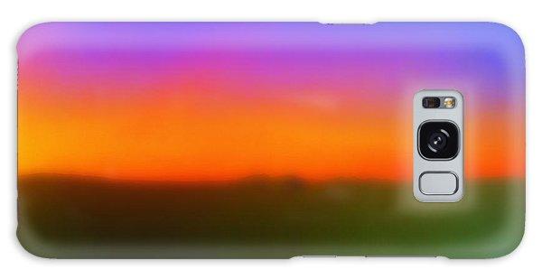 Desert Sun Abstract Galaxy Case by Deborah  Crew-Johnson
