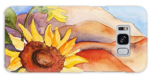 Desert Sunflower Galaxy Case