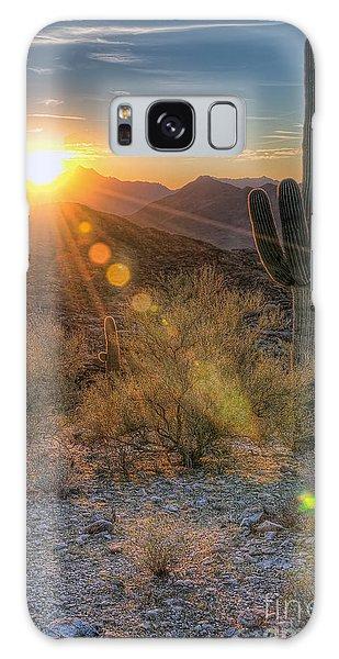 Desert Sunset Galaxy Case
