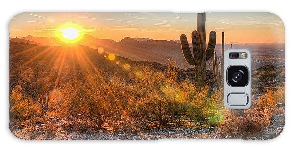 Desert Sunset Galaxy S8 Case - Desert Sunset II by Eddie Yerkish