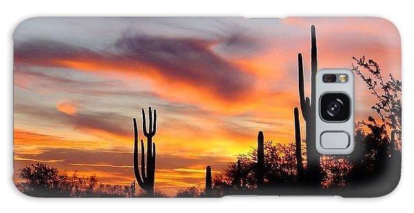 Desert Sunset Galaxy Case by Joseph Baril