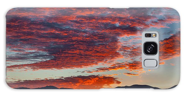 Desert Sunset Galaxy Case