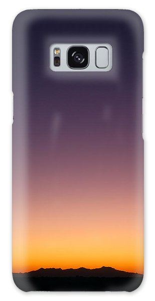 Galaxy Case featuring the photograph Desert Twilight by Brad Brizek