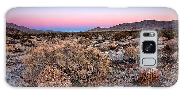 Desert Twilight Galaxy Case