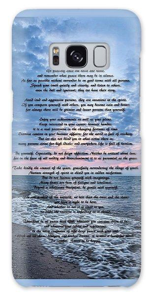Desiderata Wisdom Galaxy Case by Dale Kincaid