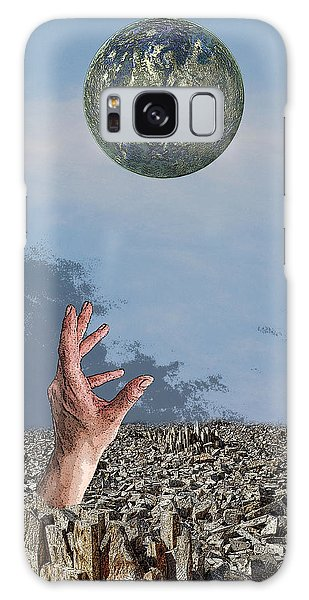 Desiring Another World Galaxy Case by Angel Jesus De la Fuente