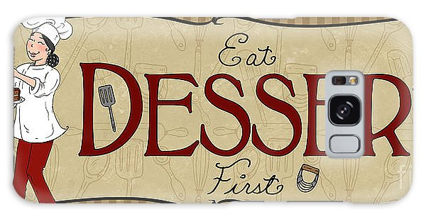 Desserts Kitchen Sign-dessert Galaxy Case