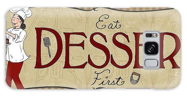 Desserts Kitchen Sign-dessert Galaxy Case