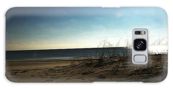 Destin Beach Sun Glare Galaxy Case by Donald Williams