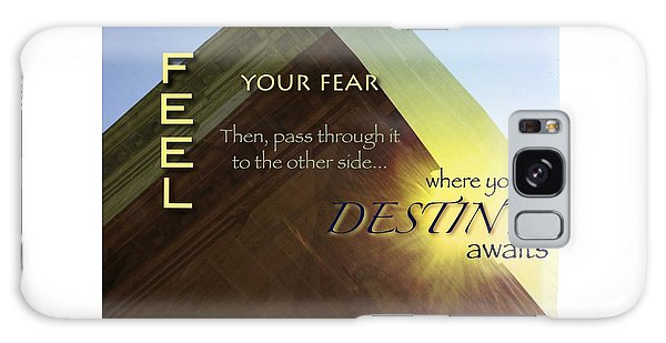 Your Destiny Waits Galaxy Case by Mark David Gerson