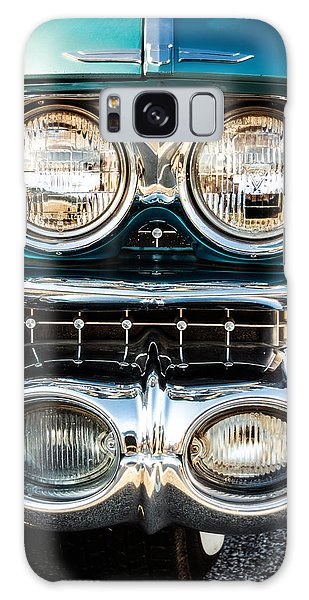 Motor Yacht Galaxy Case - Detail - 1959 Cadillac Sedan Deville Series 62 Grill by Jon Woodhams