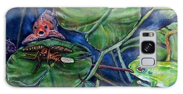 Detail Of Day Of Judgment For A Pesky Mosquito  Galaxy Case by Kimberlee Baxter