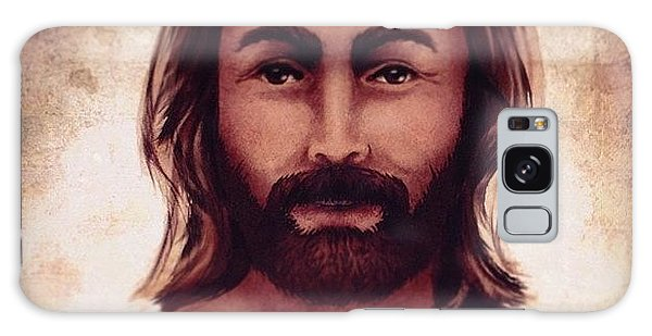 Portrait Of Jesus Galaxy Case