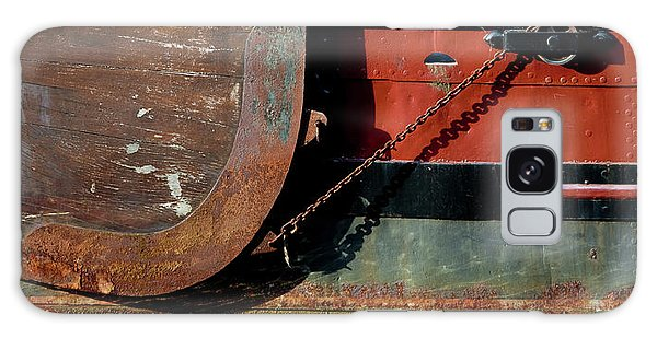 Rusty Chain Galaxy Case - Details Of A Dutch Boat, Holland by Panoramic Images
