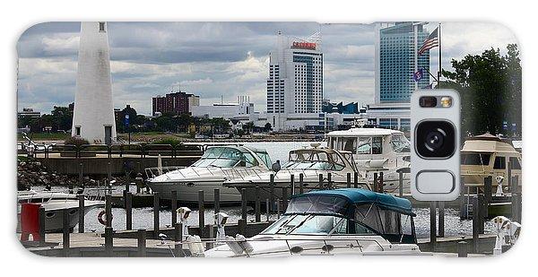 Detroit Boat Docks Galaxy Case