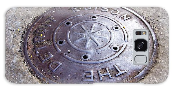 American Steel Galaxy Case - Detroit Edison Manhole Cover by Mark Williamson/science Photo Library