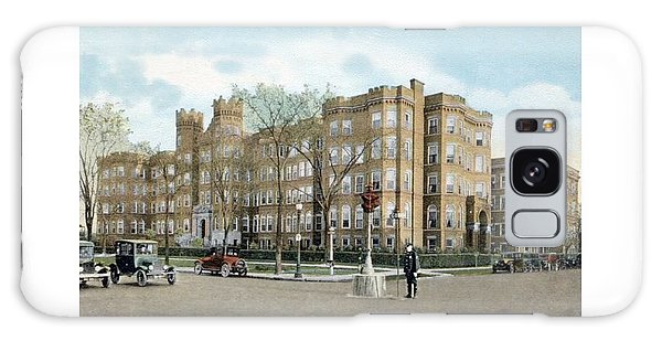 Detroit - Providence Hospital - West Grand Boulevard - 1926 Galaxy Case