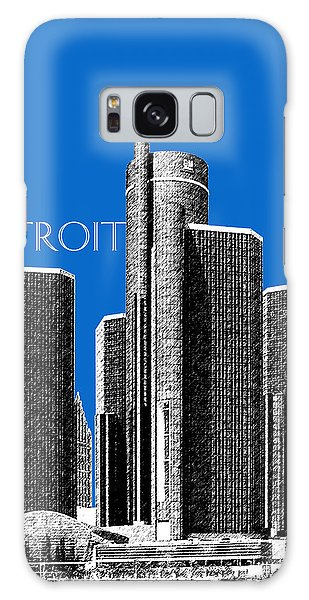 Motor City Galaxy Case - Detroit Skyline 1 - Blue by DB Artist