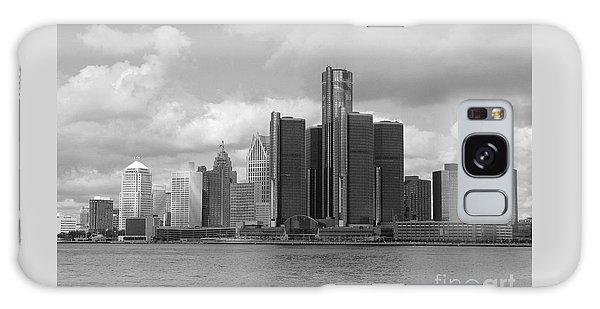 Detroit Skyscape Galaxy Case