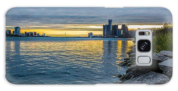 Detroit Sunset Galaxy Case