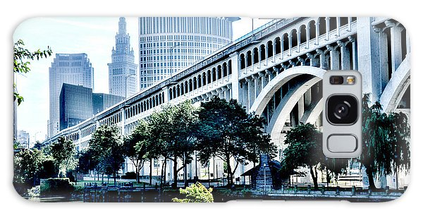Detroit-superior Bridge - Cleveland Ohio - 1 Galaxy Case