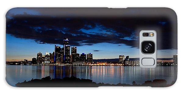 Motor City Galaxy Case - Detroit Twilight by Cale Best