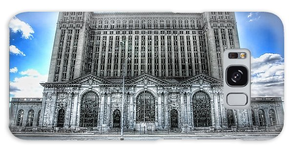Detroit's Abandoned Michigan Central Train Station Depot Galaxy Case