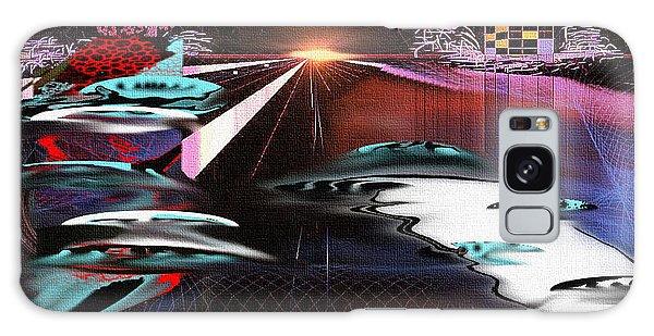Ufo Landing Galaxy Case by Yul Olaivar