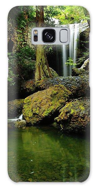 Devil Creek Falls  Galaxy Case by Jeff Swan