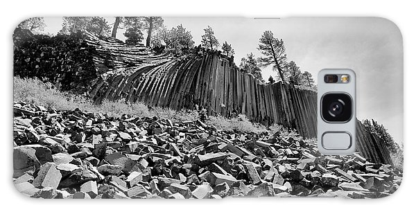 Devils Postpile National Monument Galaxy Case by Terry Garvin