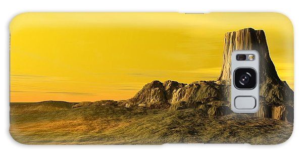 Devils Tower Galaxy Case by John Pangia