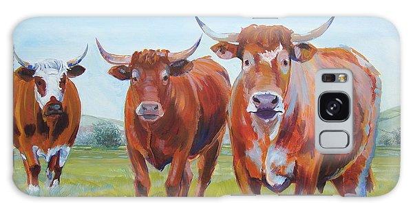 Devon Cattle Galaxy Case