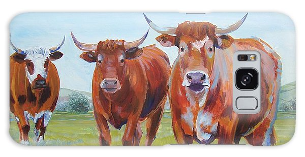Devon Cattle Galaxy Case