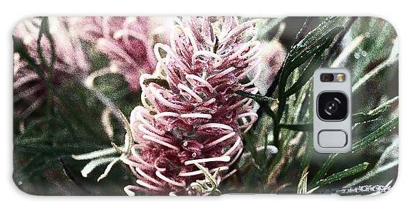 Dew Covered Grevillea Galaxy Case
