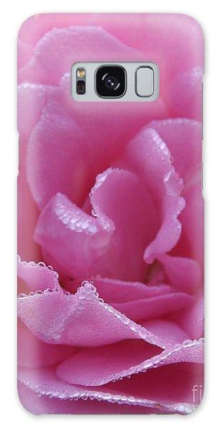 Dew Kissed Rose Galaxy Case