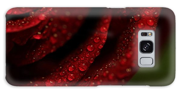 Dew Kissed Rose Galaxy Case