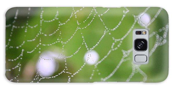 Dew On A Web  Galaxy Case