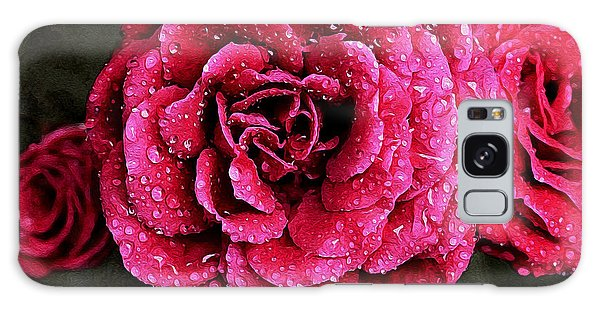 Dew On The Rose Galaxy Case