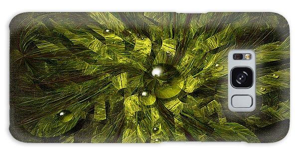 Dewdrops Galaxy Case