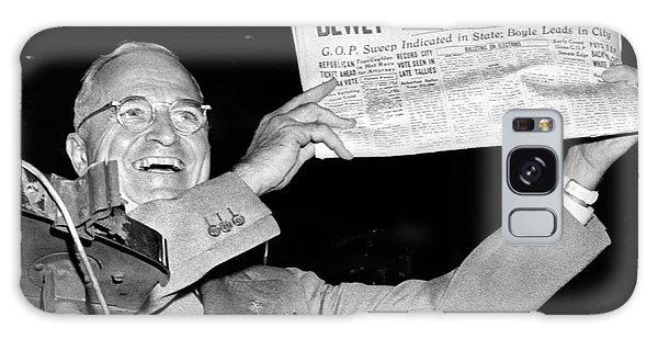 Dewey Defeats Truman Newspaper Galaxy Case
