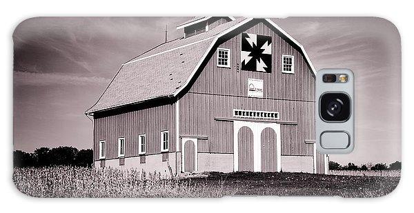 Dewitt County Barn B And W Galaxy Case