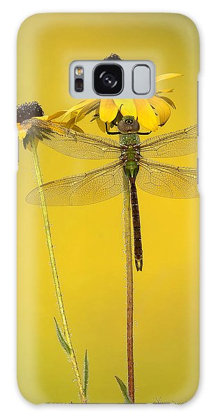 Galaxy Case featuring the photograph Dewy Darner by Vickie Szumigala