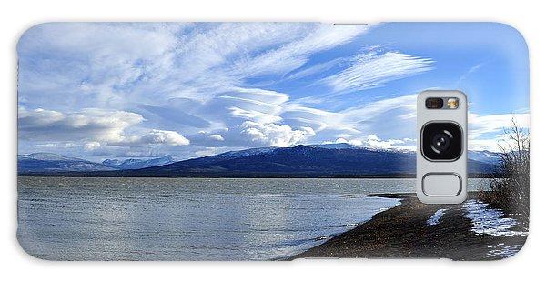 Dezadeash Lake Galaxy Case by Cathy Mahnke