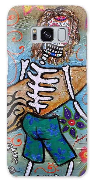 Dia De Los Muertos Surfer Galaxy Case