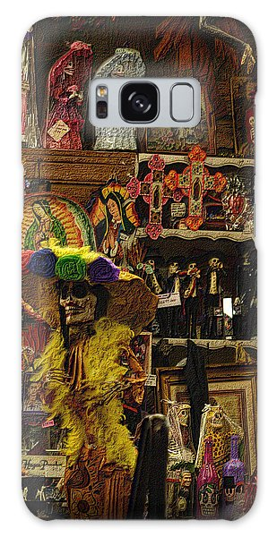 Dia De Muertos Shop Galaxy Case